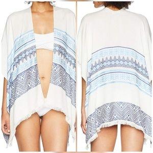 Calvin Klein Neo Geometric Kimono Wrap
